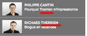 therrien rouge